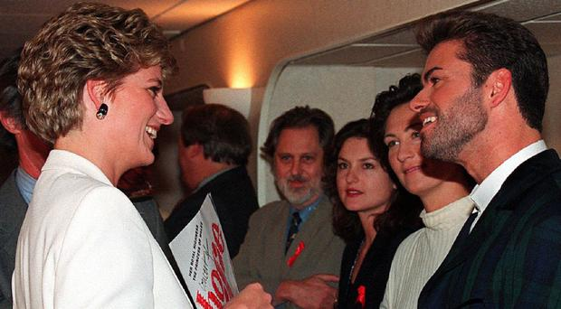 Diana, Princess of Wales almost outed George Michael to a young Prince Harry
