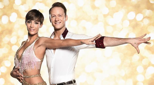 Frankie Bridge and dance partner Kevin Clifton dazzled the judges (BBC/PA)