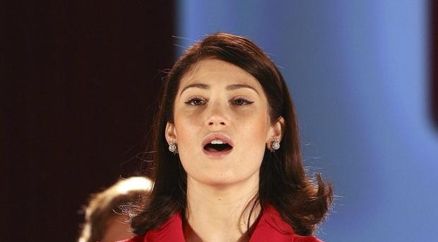 Gemma Arterton plays Rita O'Grady in Made in Dagenham, which is showing at the Adelphi Theatre in central London.