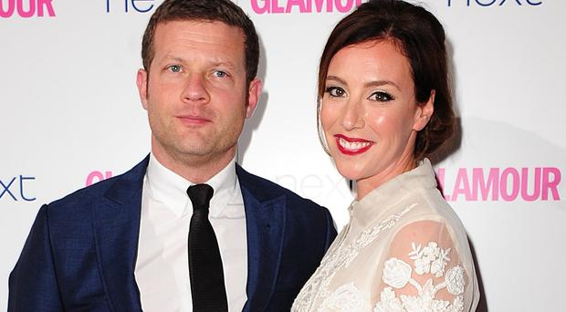 Dermot O'Leary and wife Dee Koppang both work in TV