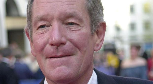 Michael Buerk has landed in Australia ahead of the latest series of I'm A Celebrity