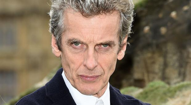 Peter Capaldi's Time Lord meets Santa in the show's festive edition