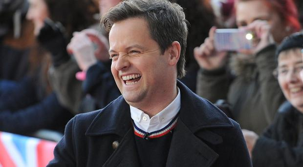 Declan Donnelly has popped the question to Ali Astall