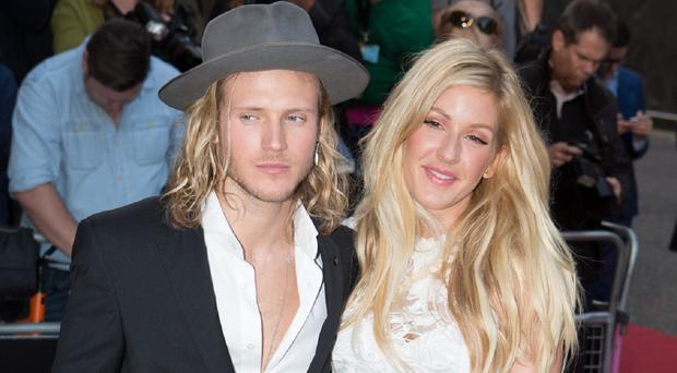 Dougie Poynter says he's not engaged to Ellie Goulding
