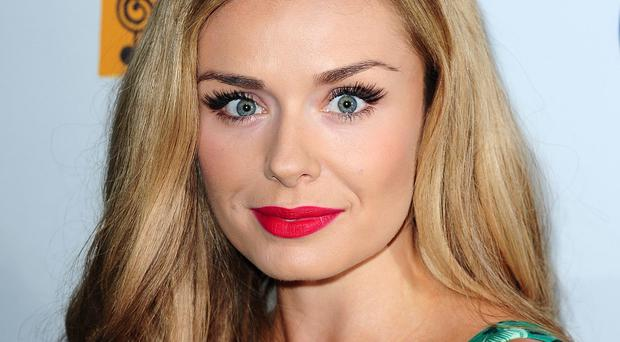 Katherine Jenkins paid a hidden tribute to her late father on her wedding day