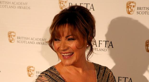Lorraine Kelly arrives for the British Academy Scotland Awards held at the Radisson Hotel in Glasgow