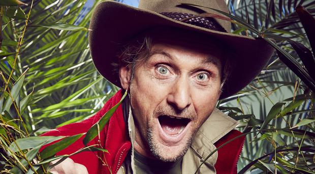 Superbike legend Carl Fogarty will now be better known for eating harmless pasteurised locusts and will be making more money from it
