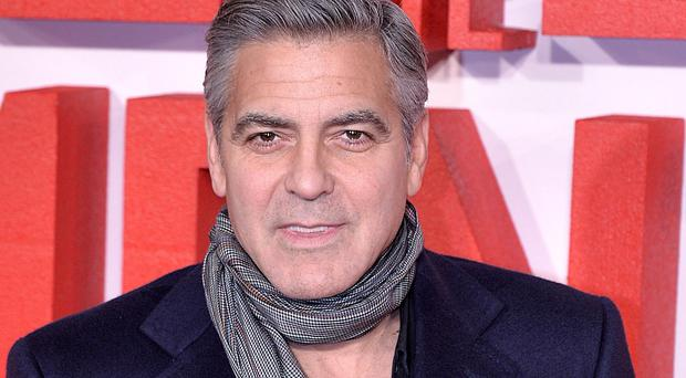 George Clooney had hearts racing on the Downton Abbey set