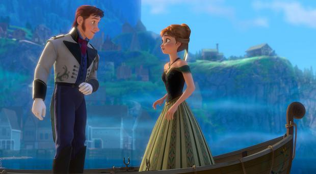 Frozen is the best-selling calendar ahead of One Direction
