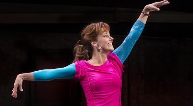 Ruthie Henshall plays Mrs Wilkinson in the Billy Elliot musical