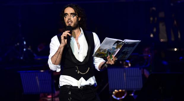 Russell Brand helped pay to set up a library in his old school.