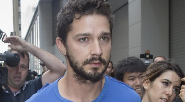 Shia LaBeouf is complying with treatment ordered as part of a plea deal
