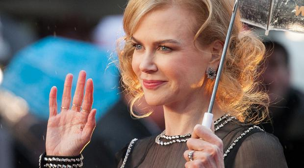 Nicole Kidman attends the world premiere of Paddington