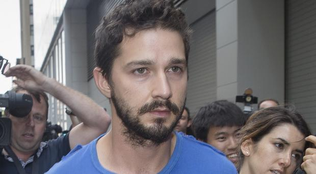 Shia LaBeouf has claimed he was raped during an art show