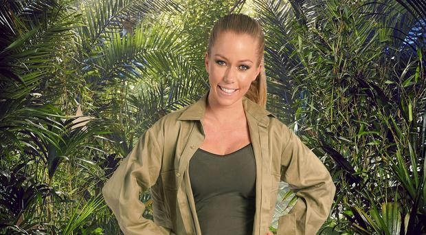 Kendra Wilkinson claimed being in the Celeb jungle was nothing to the 'warzone' of her usual life