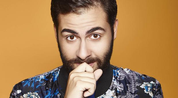 Andrea Faustini earned praise from the judges for belting out Sia's hit Chandelier (PA/Syco/Thames TV)