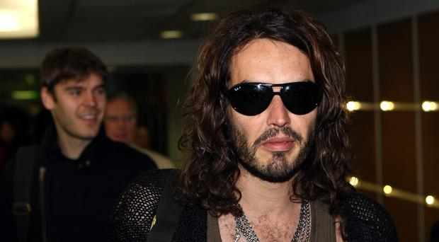 Russell Brand has won an award for gobbledygook