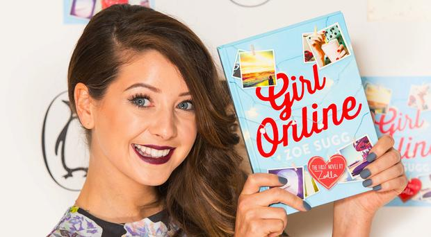 Zoella has become the fastest selling denut novelist on record