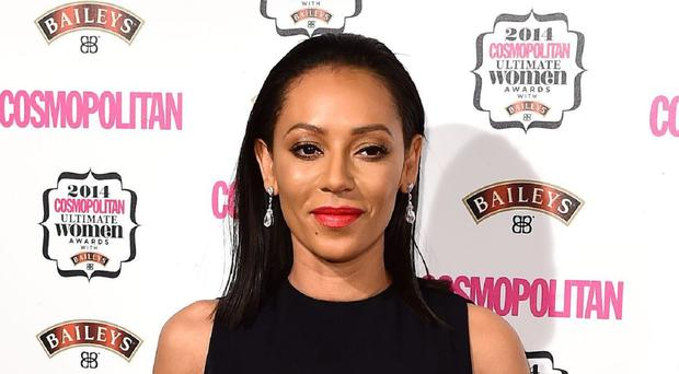 Mel B at the Cosmopolitan Ultimate Women of the Year Awards at One Mayfair in London.