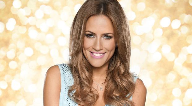 Caroline Flack says she can't see how she would be affected by the Strictly love curse