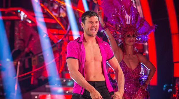 Mark Wright won't be baring his chest on the Strictly dancefloor again