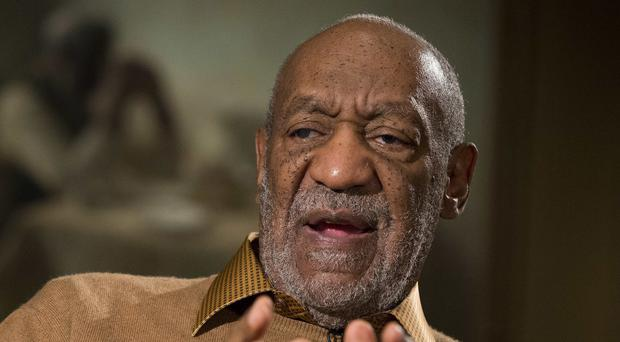 Bill Cosby's star on the Hollywood Walk of Fame has been vandalised. (AP)