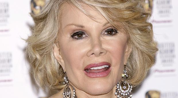 Joan Rivers left money in her will for some of her favourite charities