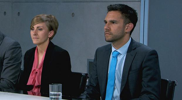 Katie Bulmer-Cooke and Sanjay Sood-Smith have been fired from The Apprentice