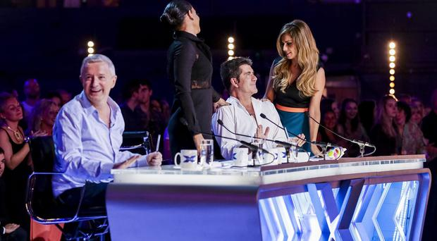 Louis Walsh says any of the three finalists could win The X Factor (Syco/Thames TV)