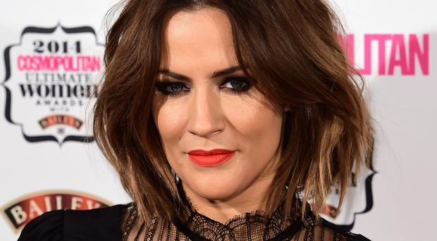 Caroline Flack turned in a great performance