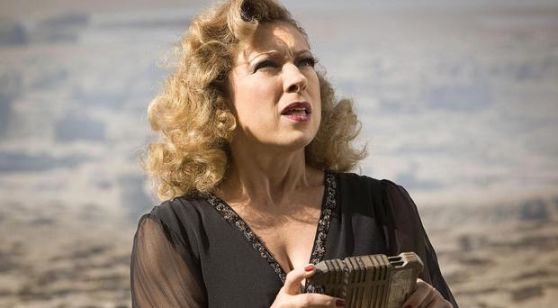 Alex Kingston starred as River Song in Doctor Who (BBC)