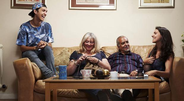 Gogglebox stars The Michaels (Channel 4)