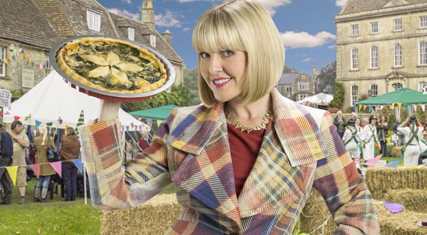 Ashley Jensen will star in Agatha Raisin And The Quiche Of Death on Boxing Day (BSKYB/Colin Hutton)