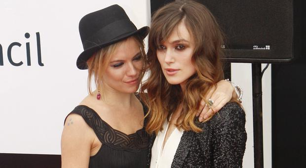 Sienna Miller says Keira Knightley will be a great mum