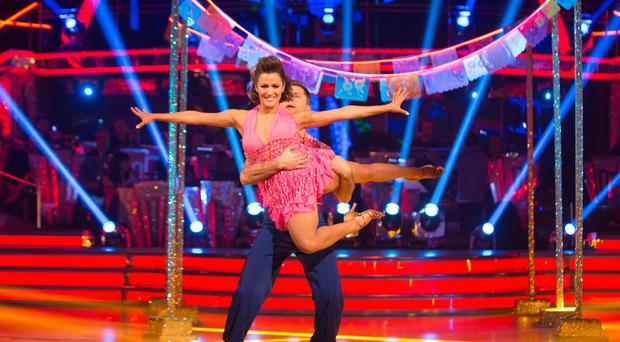 Caroline Flack is favourite to win the Strictly Come Dancing glitterball trophy this year