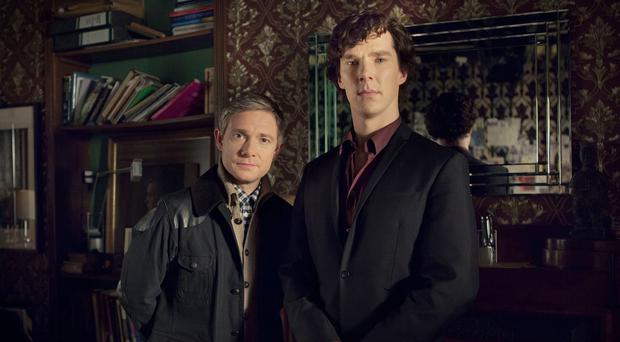 The return of Sherlock was among the most tweeted about TV events of 2014