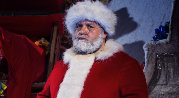 Nick Frost was happy to be cast as Santa in Doctor Who