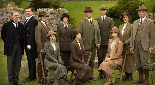 Downton Abbey's cast are back for a Christmas special