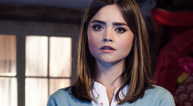 Doctor Who star Jenna Coleman has revealed she will stay with the show for another series (BBC/PA)