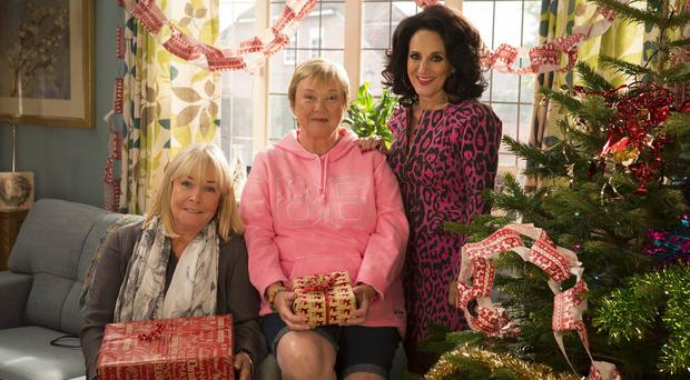 Birds Of A Feather is back on ITV this Christmas