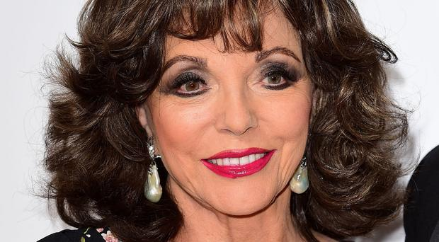 Joan Collins was a big hit in her Dynasty role