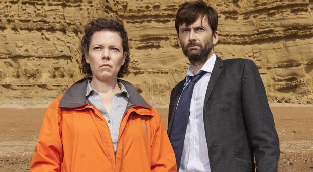 Olivia Colman and David Tennant say they enjoy keeping Broadchurch's secrets