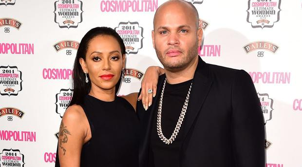 Mel B and Stephen Belafonte saw in 2015 together