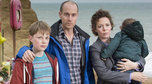 Matthew Gravelle plays a man accused of murder in Broadchurch (ITV)