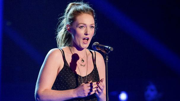 Lucy O'Byrne appears on BBC talent show The Voice