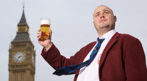 Al Murray is going to stand for Parliament as his character The Pub Landlord