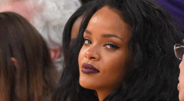 Rihanna was spotted at another party also attended by Leonardo DiCaprio