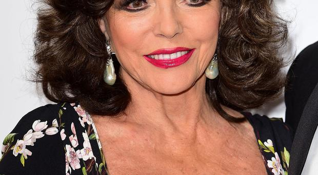 Dame Joan Collins says her latest marriage is her happiest