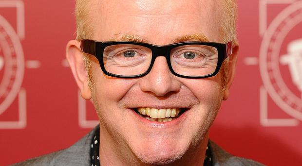 Chris Evans will broadcast his radio show from St James's Palace