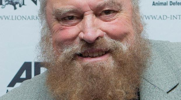 Brian Blessed recovered after drinking sweetened tea